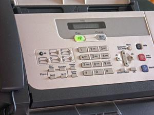 Fax sans fils